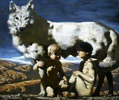 Romulus and Remus. Alexander Novoselov. Russian