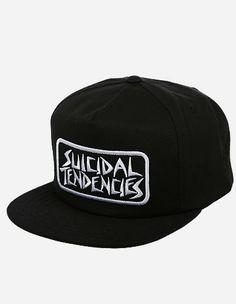 2dd5897ea960b Obey Clothing - Suicidal Propaganda Snapback Cap black