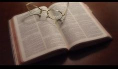 Reading the Bible online is cool. But, nothing beats holding the Bible in your hands and turning the pages...