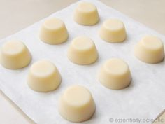 Lotion bars, these would make perfect stocking stuffers :)