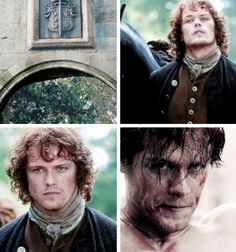 """It's behind you now, Jamie...it's in the past [GIFSET] 1x12 Lallybroch"