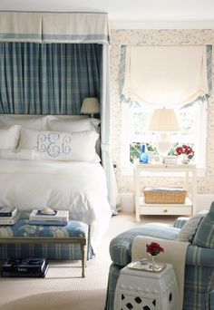 why not just cover anna's awkward window with a bed canopy...she got 2 others?  Savvy Home: Designer Crush: Ashley Whittaker