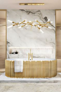 he emotional Oval Symphony Bathtub and the elegant marble Cross Grey Surface are a match made in heaven for a luxurious master bathroom! Gold grey and white automatically transform any bathroom into an authentic luxury.