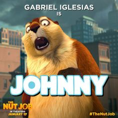 Every heist needs a bruiser to help crack some nuts. Meet Johnny, played by Gabriel Iglesias. See him in on January Family Tv, Family Movies, Fluffy Gabriel Iglesias, The Nut Job, Reality Tv Shows, Adult Children, Animals Beautiful, Comedians, Storytelling