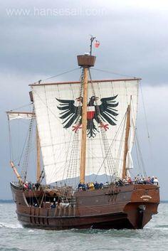 Coque Lisa von Lübeck at Hanse Sail Rostock