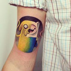 We ❤ Tattoo: Adventure Time - IdeaFixa