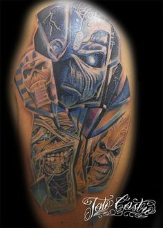 Iron Maiden's 'Somewhere in Time' Turns 30  |Iron Maiden Somewhere In Time Tattoo