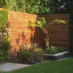 modern contemporary fence