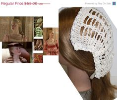 ON SALE NOW Antique white  white pearl ribbon by Ablast2thepast