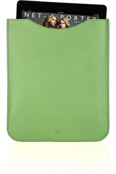 MULBERRY  Textured-leather iPad sleeve  £133.33