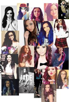 """jade thirlwall's faceidek"" by grm1006 ❤ liked on Polyvore"