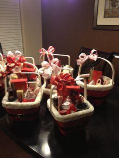 christmas baskets i made last year christmas hamper christmas candy christmas gift ideas