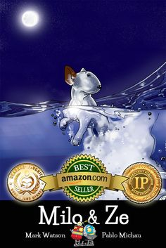 The loneliest #dog in the world is about to BREAK FREE and take your #children on a magical #journey to the far end of the world to find nothing more than a friend... WINNER: #IPPY AWARD 2015 Best Illustrated Children's Ebook WINNER: READER'S FAVORITE AWARD 2015 Best Children's #Animal Book WINNER: STORY MONSTER 2015 Story Monster Approved Award Our #book, Milo & Ze is available in #paperback or #kindle…