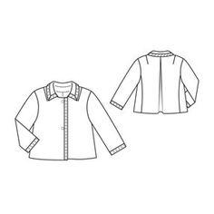Cropped Wool Jacket 10/2010 #113
