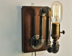 Industrial sconce light lamp-Unique wall by CleverFoxLighting