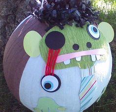 Zombie Pinata.  Halloween Zombie by PinataPals on Etsy