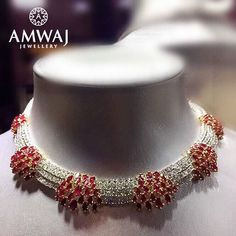 "combination of diamonds, rubies and originality. #jewelry #jewels #friday #jewel #ksa…"""