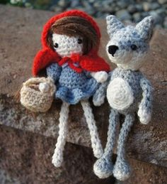 Caperucita roja --  Little Red Riding Hood amigurumi