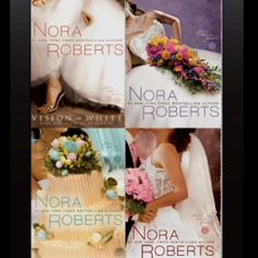 Nora Roberts - The Bride Quartet. One of my favorite series. Wish there was a movie!