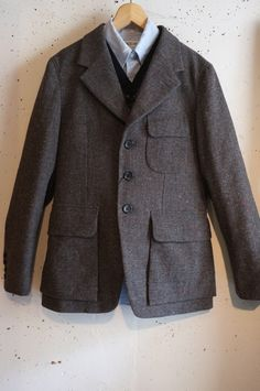 Nigel Cabourn - MALLORY JACKET (DONEGAL TYPE TWEED)