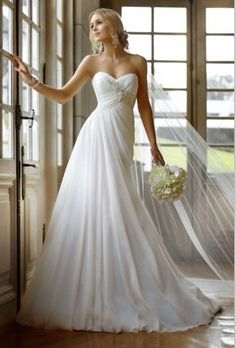 Upgrade Your Unique Taste with Gorgeous A Line Wedding Dresses on Budget