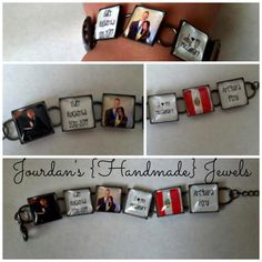 I Love My Missionary Picture Bracelet $25 - Great idea for ancestors photos and/or handwriting