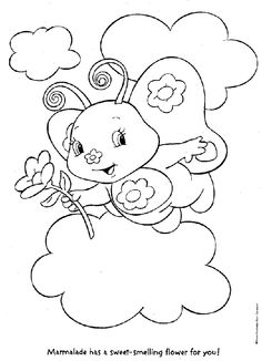 Strawberry Shortcake Coloring Pages 13