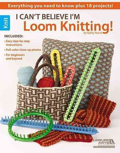 Have you discovered the hot tool that makes knitting easier than ever before--without knitting needles? It's a knitting loom (also known as a knitting wheel), and using one is as simple as wrapping ya