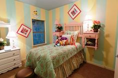 Alice in wonderland room.. LOVE THIS IDEA FOR my baby girl!!!
