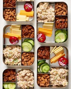 Meal Prep Plan: A Week of Easy Keto Meal. - Fast Keto Meal Prep in Under 2 Hours. If you're looking to start the keto diet, this easy meal pr - Diet Snacks, Healthy Snacks, Healthy Eating, Healthy Dinners, Easy Meals, Meals To Go, Healthy Packed Lunches, How To Eat Healthy, Healthy Low Carb Snacks