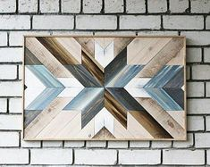 Wood panel decorative Picture from boards Picture from wood Wood vip gifts Picture lath Abstract lath Geometric lath Wall wood lath art Lath