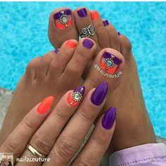 BY-- #NAILZCOUTURE ON INSTAGRAM  #manipedi#pedi#pedicure #mani#manicure #manicurednails #manicures #nailtechnails #nails#nailswag