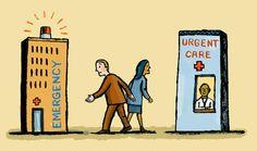 Emergency Care vs. Urgent Care #DoctorsCare