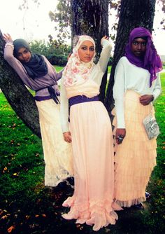 lovely hijabs
