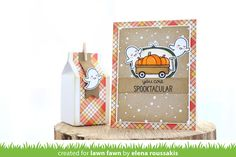 Lawn Fawn Intro: Perfectly Plaid Fall, New Cardstock and Ink   the Lawn Fawn blog   Bloglovin'