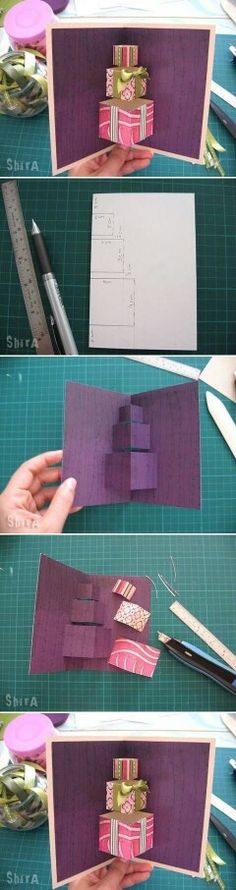 DIY pop-out card