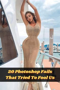 We live in an era where photoshopping photographs is sadly the norm. I'm not talking about people photoshopping weird/funny things in the background of photos, I'm talking about people manipulating images of themselves with bizarre and sometimes terrifying results!
