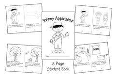 Johnny Appleseed and Apples Unit Study and Lapbook