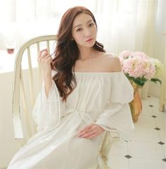 100%Cotton princess nightdress Classical royal nightgown $81.35 => Save up to 60% and Free Shipping => Order Now! #fashion #woman #shop #diy www.homeclothes.n...