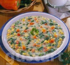 Receptek Lajos Mari konyhájából - Tejszínes finomfőzelék