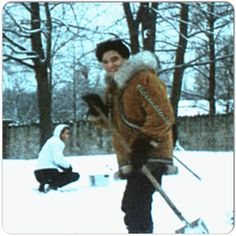 Playing in the snow at Graceland                                                                                                                                                     More