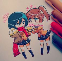Mikasa & Sasha [By: Ibu-chan]... http://xn--80aaoluezq5f.xn--p1acf/2017/01/12/mikasa-sasha-by-ibu-chan/