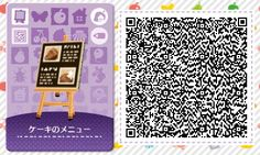A wide choice of qr codes for Animal Crossing New Leaf and Happy Home Designer Qr Code Animal Crossing, Animals Crossing, Animal Crossing Qr Codes Clothes, Design Set, Cafe Design, Interior Design, Design Ideas, Acnl Paths, Motif Acnl