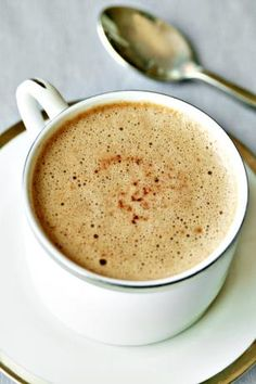 Hot Cocoa Mocha--Cocoa, sugar, whipping cream, hot coffee