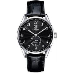 http://www.horloger-paris.com/fr/407-tag-heuer-carrera Tag Heuer Carrera Heritage Calibre 6 : WAS2110.FC6180