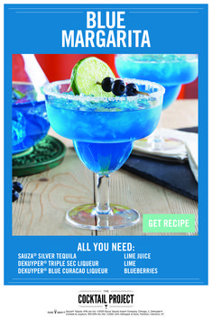 Cocktails, Cocktail Drinks, Cocktail Recipes, Triple Sec, Liquor Drinks, Alcoholic Drinks, Blue Margarita, Alcohol Drink Recipes, Silver Tequila