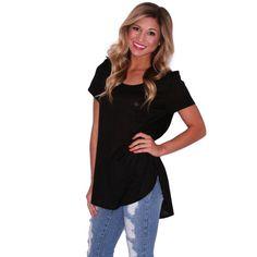 Dress To Impress Tee in Black | Impressions  Get back to basics at www.shopimpressions.com!