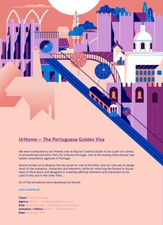 #behance: URHOME ? THE PORTUGUESE GOLDEN VISA