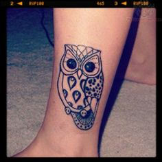 owl tattoos | Owl Tattoos Pictures and Images