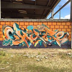 #Graffiti #art by CHURE